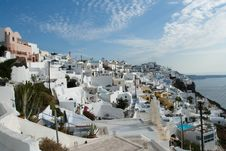 Free Island Santorini Royalty Free Stock Photos - 28368518