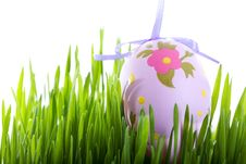 Free Colorful Easter Eggs Above Stock Photos - 28369763