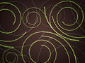 Free Green Swirls From Circles Royalty Free Stock Photos - 28374238