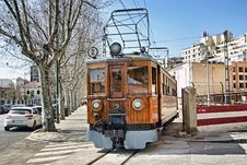 Free Soller Train Royalty Free Stock Photos - 28371278