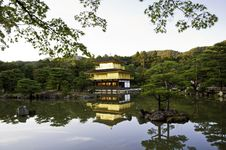 Free Kinkakuji Temple Of The Golden Pavilion, Kyoto, Japan. Stock Photography - 28373352