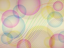 Free Colorful Bubbles Background Stock Images - 28374194