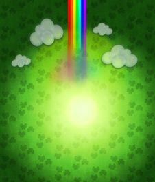 Free Patricks Day Background Royalty Free Stock Photo - 28374255