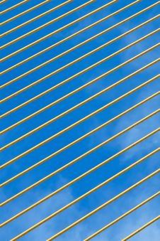 Free Yellow Cable Line Stock Photos - 28374953