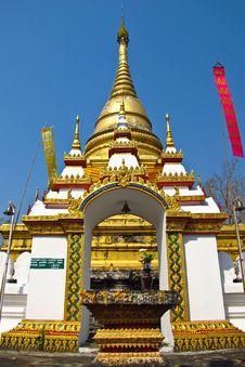Free Thai Pagoda Stock Photo - 28376240