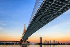 Free Bhumibol Bridge Stock Images - 28377604