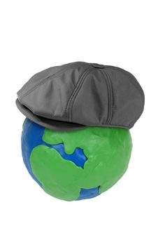 Free Plasticine Globe And Cap Stock Photography - 28377952