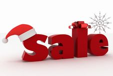 Advertisement Nice New Year Sales Royalty Free Stock Images