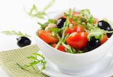 Free Healthy Beans Salad Stock Photo - 28379570