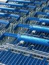 Free Supermarket Trolleys Royalty Free Stock Image - 28382816