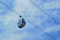 Free Cable Car Travelling Against Sky Stock Image - 28382971
