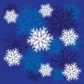 Free Snowflakes Ornament Royalty Free Stock Photo - 28386215