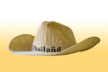 Free A Hat Isolate On White And Yellow Royalty Free Stock Photos - 28387878