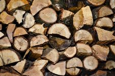 Free Chopped Wood Royalty Free Stock Photo - 28380645