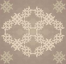 Free Vitage Brown Flourish Pattern Stock Images - 28386224