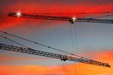 Free Sunset Buikding Stock Photography - 28386872