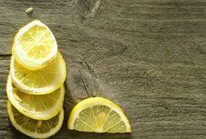 Free Sliced Lemon Background Royalty Free Stock Photo - 28388305