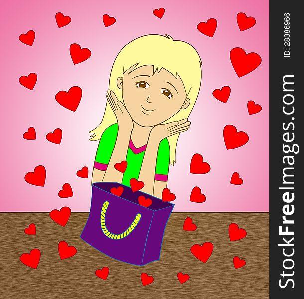 Bag of hearts