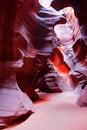 Free Sun Light Through Upper Antelope Canyon Stock Photos - 28391773