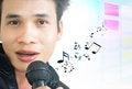 Free Asian Pop Singer Royalty Free Stock Image - 28394266