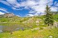 Free Beaver Lagoon In The San Juan Mountains In Colorado Stock Photo - 28394420