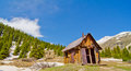 Free A Preserved House In Animas Forks, A Ghost Town In The San Juan Mountains Of Colorado Royalty Free Stock Images - 28394449