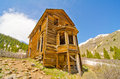 Free The Largest Preserved House In Animas Forks, A Ghost Town In The San Juan Mountains Of Colorado Stock Photo - 28394460