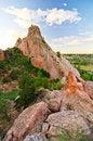 Free Rock Formation At Garden Of The Gods In Colorado Springs, Colorado Royalty Free Stock Photo - 28394485