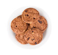 Free Cookie With Chocolate Pieces Stock Photography - 28395732