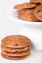 Free Cookie With Chocolate Pieces Stock Images - 28395744