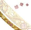 Free Pink Diamond Bangle Royalty Free Stock Photography - 28396167