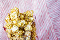 Free Sweet Popcorn In Glass Stock Images - 28397134