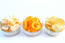 Free Selection Of Nibbles Royalty Free Stock Photo - 28390975