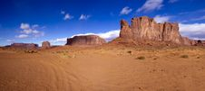 Monument Valley In Arizona Royalty Free Stock Photos
