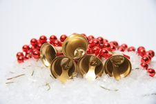 Free Christmas Bells  Background Stock Image - 28392381