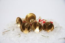 Free Christmas Bells Background Stock Photos - 28392383