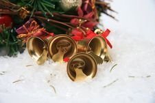 Free Christmas Bells Background Stock Photos - 28392393