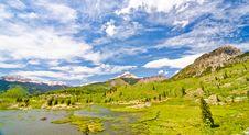 Free Beaver Lagoon In The San Juan Mountains In Colorado Stock Photography - 28394432