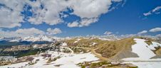 Free View Of The Rocky Mountains From The Top Of Cottonwood Pass, Colorado Stock Photo - 28394480