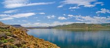 Blue Mesa Reservoir In The Curecanti National Recreation Area In Southern Colorado Stock Images