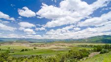 Free Rural Farming Valley In The Foothills Of The San Juan Mountains In Colorado Stock Images - 28394514