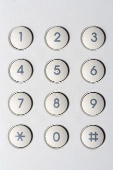 Free Security Numbers Royalty Free Stock Image - 28397566