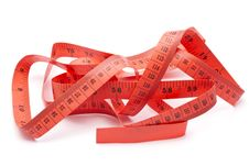 Free Red Tape Measure Royalty Free Stock Photos - 28397648