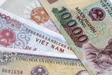 Free Viet Nam Currency Stock Image - 28397891