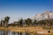 Xiang Lake After The Snow Stock Photography