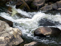 Free Water Rushing Over Rocks Royalty Free Stock Photo - 2844675