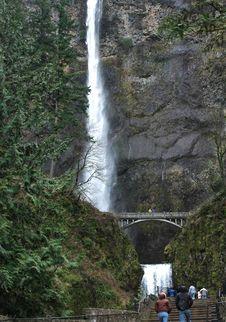 Free Multnomah Falls Stock Image - 2840071