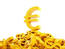 Free Euro And Dollars Stock Photos - 2840193
