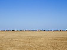 Free Line Of Sunshades Stock Photography - 2840652