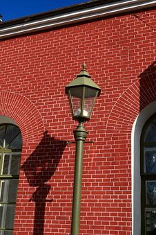 Free Street Lamp Royalty Free Stock Photo - 2840995